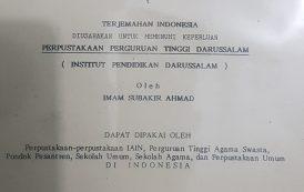 KH. Imam Soebakir Ahmad & Cita-cita Perpustakaan
